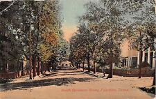 1913 Homes South Sycamore St. Palestine TX post card