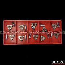 Hunter Negative Rake Carbide Brake Lathe Bits / Inserts 221-617-2
