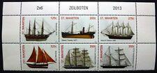 ST. MAARTEN 2013 Schiffe Sailing Ships Segelschiffe Navi Bateaux ** MNH