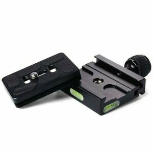 PU-60 Quick Release Plate+MetalClamp for Manfrotto Arca Swiss Tripod TH