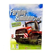 Farming Simulator 2013 Game PC CD-ROM PC & Mac Simulation Vgc Complete Windows
