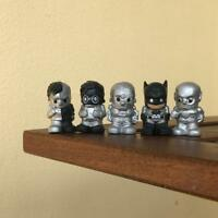 LOT 5X OOSHIES DC Titanium sliver CYBORG Batman Pencil Topper Limited  TTUS