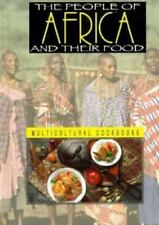 People of Africa and Their Food (Multicultural Cookbooks Series)-ExLibrary