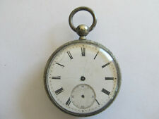 18 LIGNES POCKET WATCH SWISS CYLINDER SILVER?