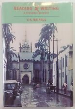 Reading and Writing: A Personal Account - V.S. Naipaul - H/C First Edition, 2000