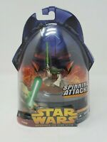 "Star Wars Yoda Revenge of the Sith 3.75"" Action Figure New on Card"