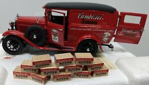 Danbury Mint The 1931 Campbell's Soup Delivery Truck 1:24 Scale Die-Cast