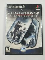 Medal of Honor: European Assault (Sony PlayStation 2 PS2, 2005)