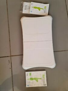 Wii Fit Plus Balance Board With Wii Fit Game Boxed Good Condition