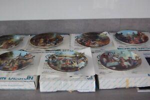 Bradford Exchange Collector plates Family Kappellmann