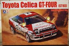 1990 toyota celica gt-four St 165 safari rally, 1:24, aoshima beemax 097885