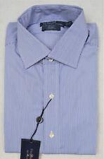 Polo Ralph Lauren Shirt Dress Button-Front Classic Fit Regent XL 17.5 36/37 NWT