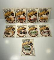 "Lot Of 9 Vintage 1976 ZEE TOYS MINI MACKS HO SCALE NEW ON CARD ""A"" #2959"