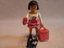 PLAYMOBIL personnage accessoires animaux ville maison dame et son chien n°5