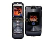 Motorola RAZR V3 Cellular Phone - Unlocked - Black - VGC