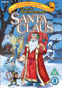 The Life and Adventures of Santa Claus DVD (2015) Glen Hill cert U ***NEW***