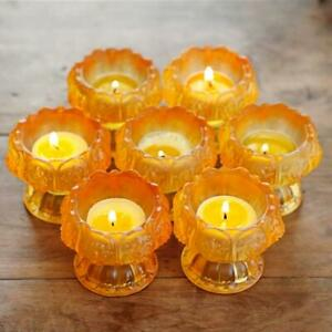 Buddhist Supplies Lotus Candle Butter Lamp Candle Holder Supply cup Buddha Pray