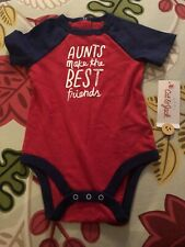 Cat & Jack Baby Aunts Make The Best Friends One Piece 6-9mos