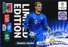 2013/14 Panini Adrenalyn Champions League EXCLUSIVE Manuel Neuer Limited Edition