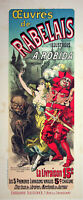 Jules Cheret: De Rabelais - Litografía Original, Firmada 1898