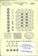 Joanna Sheen / Christine Coleman - Rubber Stamps - Lace Stamps - Scallop - JS256