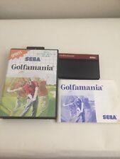 Golfamania * COMPLETE exc cond * SEGA Master System