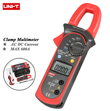 UNI-T UT204A DC/AC Voltage Current Digital Clamp Meter with OHM CAP Freq Temp me