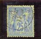 FRANCIA YT 1876-78 Nº78b 25c USADO