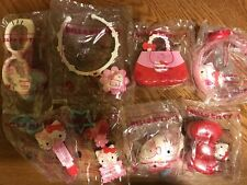 MCDONALDS 2018 HELLO KITTY. COMPLETE SET OF 8 TOYS. ALL NIP!! SHIPPING NOW!!
