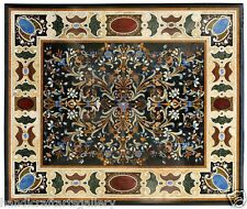 4'x2' Marble Flooring Mosaic Pietradura Inlay Granite Tops Home Art Furniture