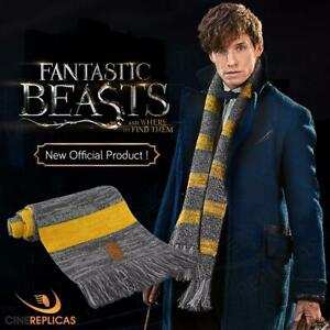 Official Warner Bros Licence Fantastic Beasts Newt Scamander Scarf