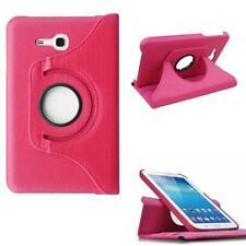 360° Leder Tasche Samsung Galaxy Tab 3 7.0 Lite SM-T110 / SM-T111 Hülle PINK *