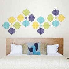Pegatinas y plantillas de pared adhesivos para el hogar