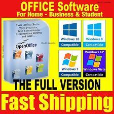 Open Office Pro 2013 procesador de texto compatible con Microsoft Windows 365 2010