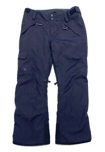 THE NORTH FACE HyVent Ski Snowboard Winter Pants Women Size L Navy Blue