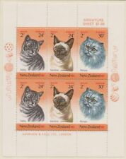 Cats Pacific Stamps