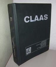 Ersatzteilliste Claas Mähdrescher Consul Spare Parts List Reservedelslistan