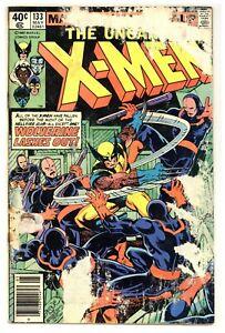 X-Men 133 Wolverine vs. Hellfire Club! Byrne Claremont 1980 Marvel Comics B928