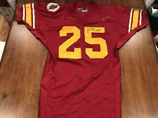 Lonnie Ford Game Used USC Trojans Jersey Game Worn Jersey