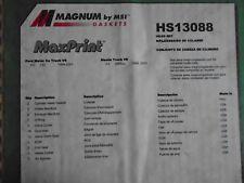 Maxprint Head Gasket Set Magnum Gaskets HS13088 fits mazda ,99-01 ford 3.0 182