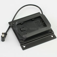 Panasonic D28S D54S Battery Plate Adapter fr DSLR Rig LCD Monitor Power Supply