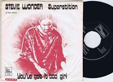 "'STEVIE WONDER Superstition danish 7"" 45PS 1973"