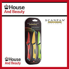 NEW Scanpan Spectrum 3 Piece Prep Knife Set! RRP $22.95!
