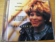 TINA TURNER SINGS COUNTRY CD MINT---  / EX+
