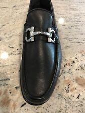 SALVATORE FERRAGAMO New $640 Gancici Loafers Shoes 11 D