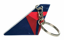 Tk2606 Delta Airlines Airplane Tail Keychain