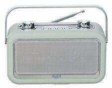 Bush Classic Leather DAB Radio - Grey.