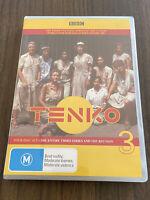 Tenko Series 3 DVD LIKE NEW 4 disc World war 2 drama TV series region 4