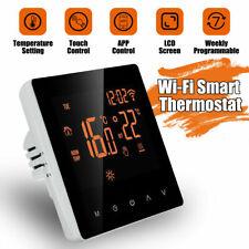 Home Smart Programmable Wifi Wireless Heated Digital Thermostat LCD Screen App