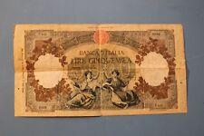BANCONOTA 5000 LIRE REPUBBLICHE MARINARE DEL MARE MEDUSA 10/2/1949 - 25/10/1947